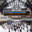 LONDON - APR 24th 2013 : Inside view of Liverpool Street, since — Stock Photo #24690261