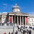 LONDON -APRIL 24: visit the National Gallery April 24th 20 — Stock Photo