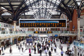 LONDON - APR 24th 2013 : Inside view of Liverpool Street, since — Stock Photo