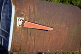 Rusty Old Mailbox — Stock Photo