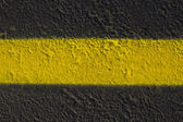 Yellow Road Stripe — Stock Photo