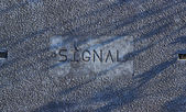 Distressed Signal Cover — Stock Photo