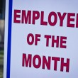 Employee of the month — Stock Photo #12531578