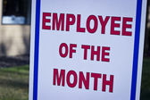 Employee of the month — Photo