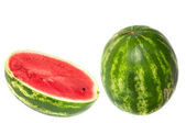 Watermelon on white background — Stock Photo