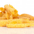 Cheese potato chips — Stock Photo