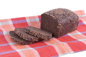 Borodino rye bread — Stock Photo