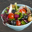 Foto de Stock  : Fresh mixed salad