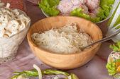 Sauerkraut in a bowl — Stock Photo