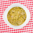 Soup broth — Stock Photo