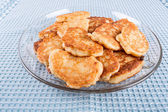 Delicious homemade pancakes — Stock Photo