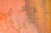 Textured rusty metal weathered and worn abstract background — Stock Photo