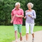 Active seniors — Stock Photo #12228002