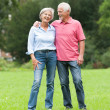 Senior couple in love — Stock Photo #12228024