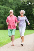 Active seniors — Stock Photo