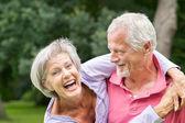 Senior couple in love — Stock Photo