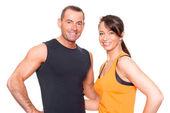 Sport couple — Stock Photo