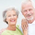 Happy senior couple — Stock Photo #27692205