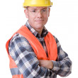 Construction worker — Stock Photo #9514115