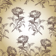 Royalty-Free Stock Photo: Graphic pattern with roses