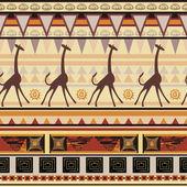 African ethnic ornament — Stock Vector
