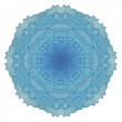 Turquoise mandala — Stock Photo #26143487