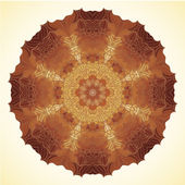 Golden mandala — Stock Photo