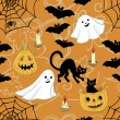 Pattern for Halloween — Stockvectorbeeld