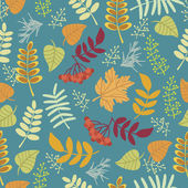Autumn pattern — Vecteur
