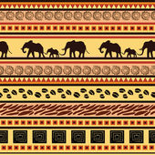 African ethnic decorative pattern — Stock Vector