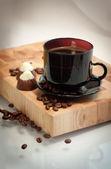 Taza de café caliente — Foto de Stock