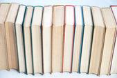 Row of books — Stock Photo