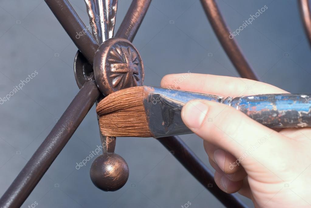 Реставрация металлических изделий