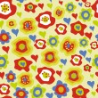 Royalty-Free Stock Vector: Flower background pattern