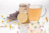 Healing herbs Alternative medicine — Stock Photo