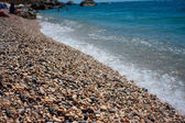 берега и вода — Стоковое фото