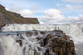Iceland - The Golden Circle - Gullfoss Waterfall — Stock Photo