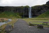Islandia - południowej islandii - seljalandsfoss — Zdjęcie stockowe