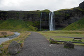 Ijsland - zuiden van ijsland - seljalandsfoss — Stockfoto