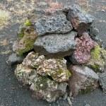 Постер, плакат: Iceland Southern Iceland Stone pile in the Eldgja