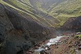 Islandia - południowy zachód od islandii - landmannalaugar — Zdjęcie stockowe
