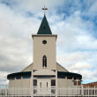 Iceland - The North East - Church of Reykjahl� — Stock Photo