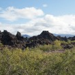 Iceland - The Northeast - Dimmuborgum at Lake Myvatn in Reykjahl� — Stock Photo