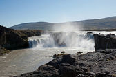 Iceland - The Northeast - Waterfall Godafoss — Stock Photo