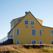 Stock Photo: Iceland - The Northeast - Guest house Godafoss