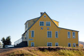 Iceland - The Northeast - Guest house Godafoss — Stock Photo