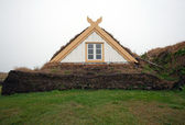 Islândia - norte - glaumbeir — Fotografia Stock