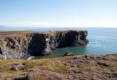 Islândia - falésias - península sneifellsnes - oeste — Fotografia Stock