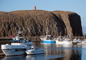 Iceland - The West - Peninsula Sneifellsnes Stykkisholmur — Stock Photo