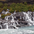 Iceland - The West - Hraunfossar — Stock Photo #16227515